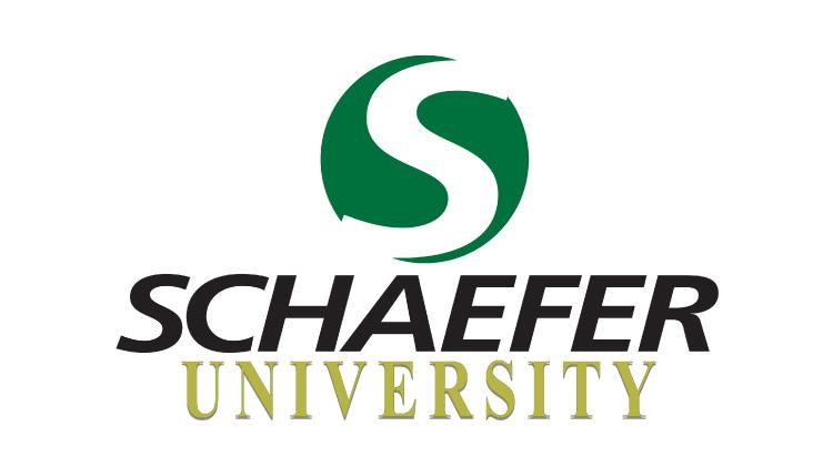 schaefer university logo