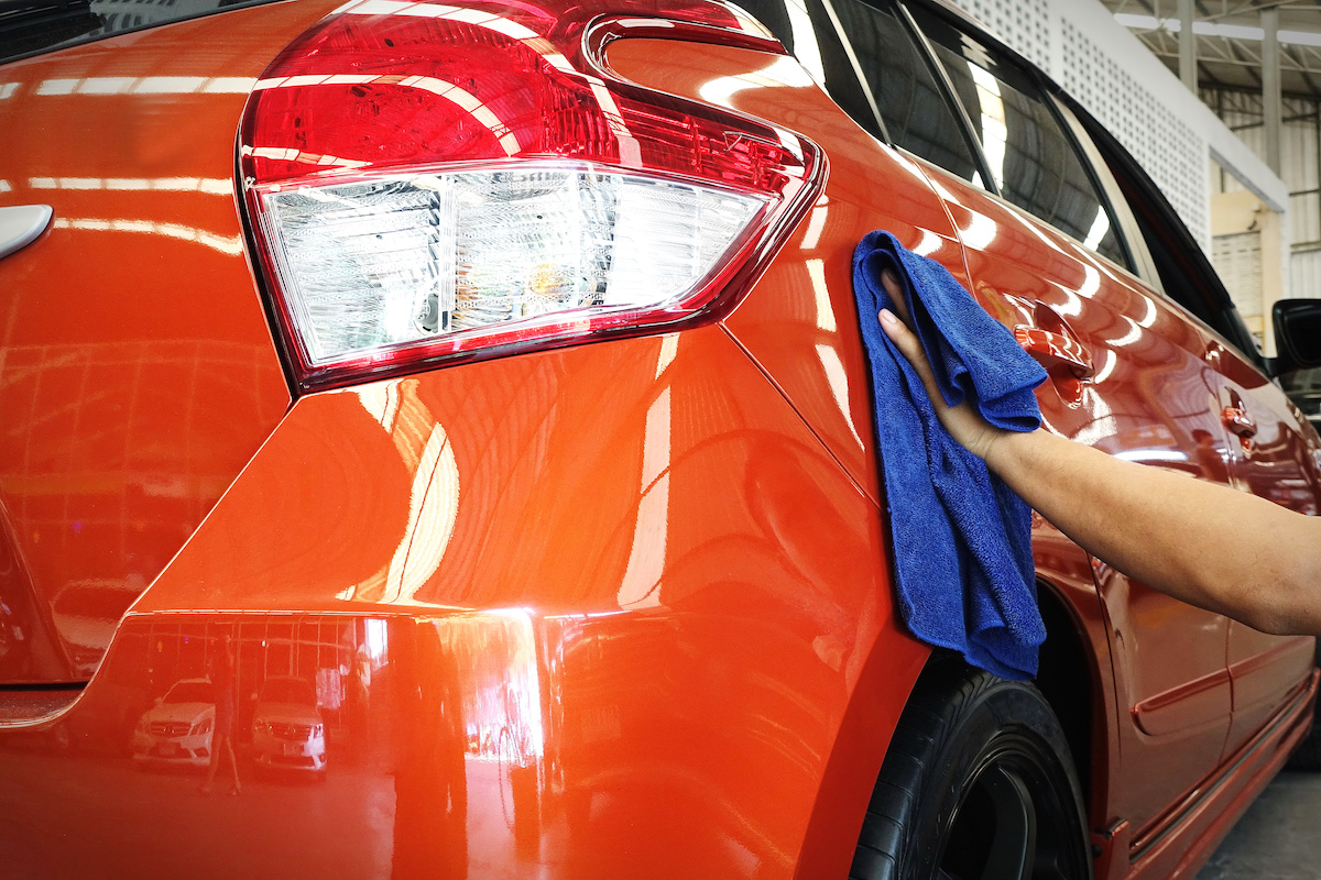 car body work auto repair paint after the accident technician work job manufacture