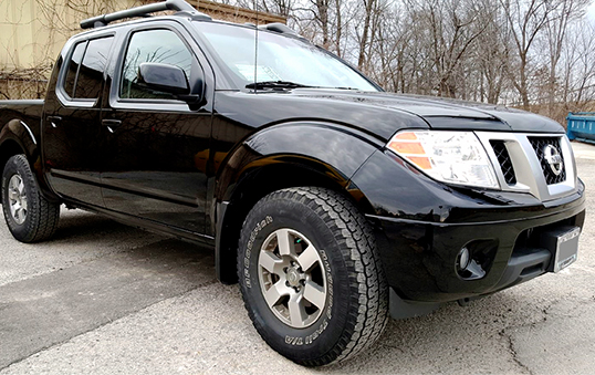 Nissan truck repaired