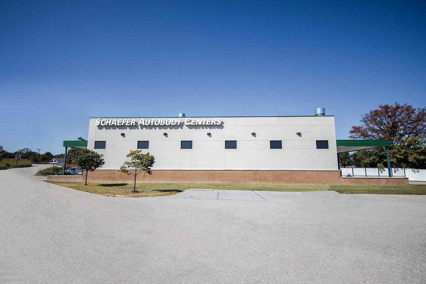 Exterior of the O'Fallon, MO, building