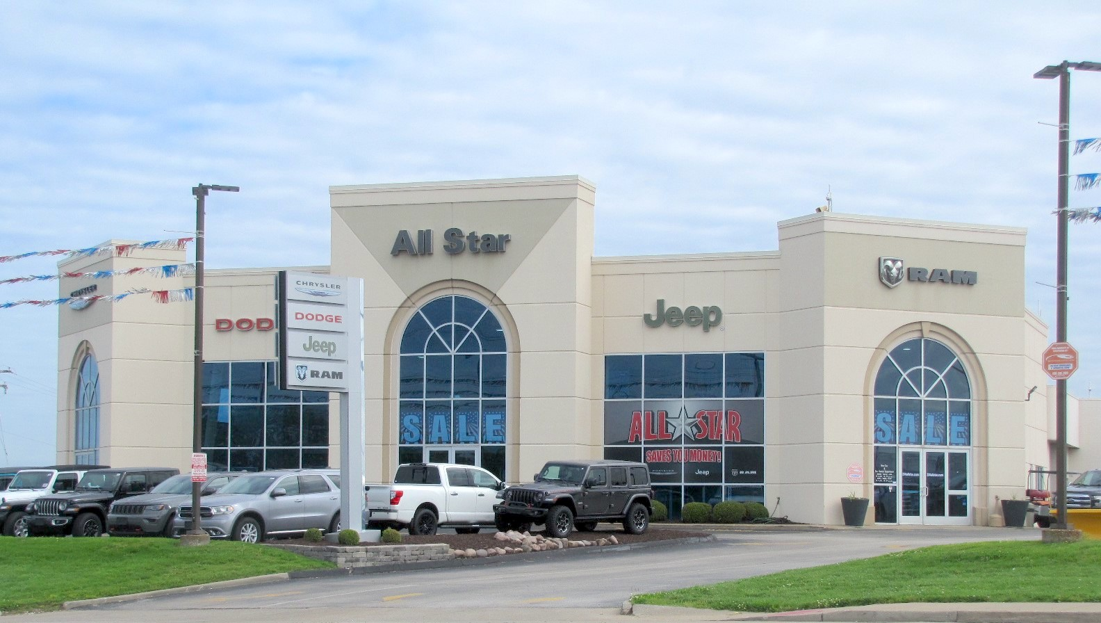 exterior of All-Star dealership partner in Bridgeton, MO