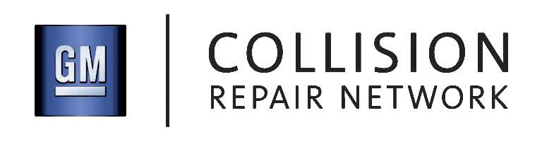 Logo for GM Collision Repair Network