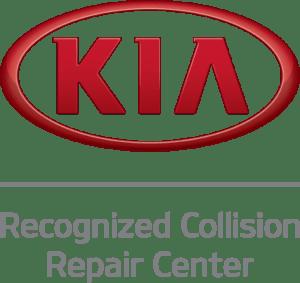 Logo for Kia Recognized Collision Repair Center