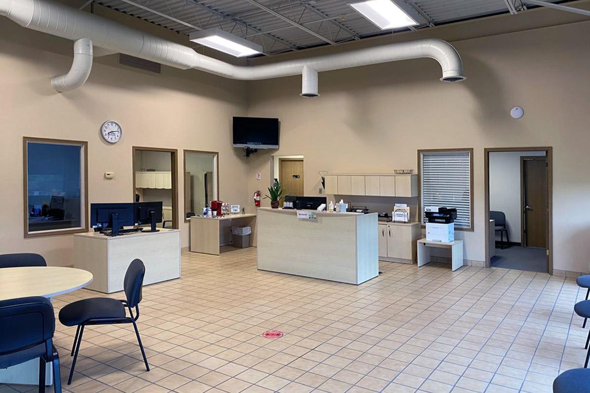Interior of Wentzville location