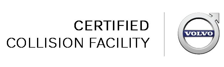 volvo certified collision repair center logo