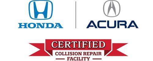 acura certified auto body repair logo