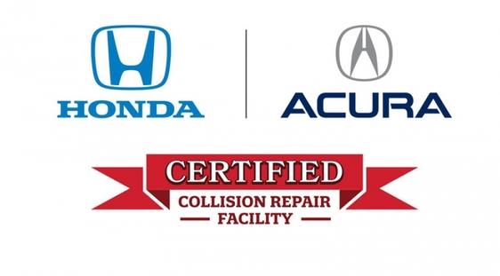 honda certified collision repair logo