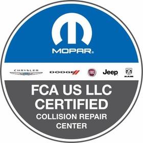 fca certified collision repair logo